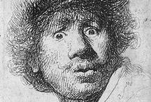 Rembrandt etchings