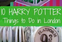 Harry Potter in London / Harry Potter attractions, events, sights, tours, landmarks and food in London, England, the UK, and Orlando, Florida. Includes Warner Bros Studios and Wizarding World of Harry Potter.