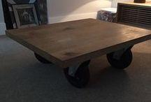 Coffee table con ruote