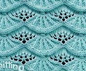 Knitting Stitches / Your online stitch dictionary. Browse for inspiration and to learn something new!