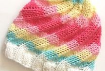 Knitting Patterns - Hats / Knitting patterns for hats - everything from kids to ladies', simple to advanced