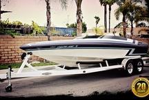 Custom Boat Trailers / Custom built boat trailers by Shadow Trailers, located in Cypress, CA.