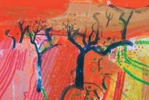 Barbara Rae silkscreen prints