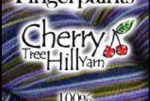 Cherry Tree Hill Yarn's Fingerpaints Self Striping Yarn