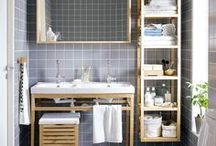 Organizing Bathrooms / Small or large, find space for everything in your bathroom.