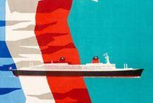 Affiches de Compagnies Maritimes