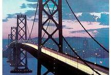San Francisco par le dessin et l'affiche