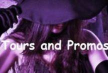 Book Tours/Promos / Book Promo, Tours, and Rafflecopter