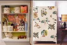 Paper Decor / Decorating Your Home With Vintage, Recycled and Found Paper