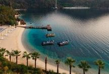 Turkey: Home Of Marmaris / The dying of the light can never put out the endless natural beauty of the turquoise sea in Marmaris!
