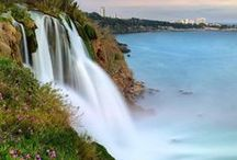 The loud, grand, and gorgeous waterfalls of Turkey! / Everyone knows the Turkish seas are incredible. Now, get to know all the amazing waterfalls and the incredible spots they sit in!