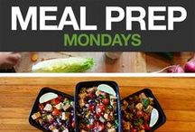 Meal Prep Tips / Tips & ideas to help prep your healthy meals ahead of time