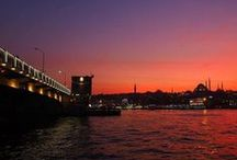 Amazing scenes of Istanbul at night! / Most cities sleep at night, but not Istanbul. Night time is when Istanbul's colors really come out to play!