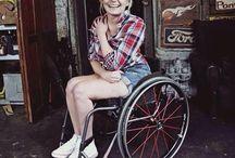 fashion and wheelchair