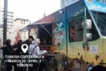 Turkish Coffee Truck / The food truck (well, drink truck) to end them all hands out the UNESCO Intangible Heritage of Turkish Coffee in Toronto between March 30th and April 3rd! Get the most authentic Turkish coffee you'll find west of Edirne, courtesy of The Turkish Culture and Tourism Office!       www.mobileturkishcoffeetruck.org