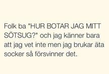 Funny quotes in swedish / Roliga svenska citat