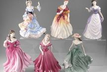Figurines / I love Figurines. Here there are many Figurines created by Giuseppe Armani, Lladro, Franklin Mint, Royal Doulton, Lennox and others. All beautiful pieces. / by Gayle T