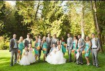 My wedding / My teal/grey/orange wedding ideas / by Destinedpico