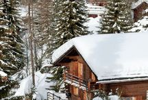 Cosy chalet style by Karen / Verbier, cosy winter days and nights.