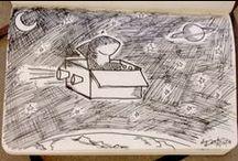 Inktober (Sharktober) / #Inktober sketches