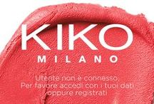 Neosperience - Kiko app visuals / Neosperience developed Kiko official app. A mobile experience that brings on your device the leading brand in Europe for makeup & skin care. Shopping, news and Rewards card: all the world of Kiko in one touch.