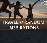 TRAVEL // Random Inspirations / Castaway with Crystals collection of fun and inspiration for travel that don't fit in any category