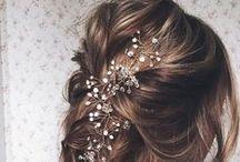 Coiffure mariage/ wedding Hair style half up / Long
