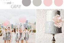 Couleur Theme Décoration mariage / Color theme Wedding deco