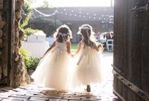 Les petites demoiselles d'honneur/ Flower girls / Flower girls outfits