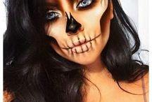 Karneval + Halloween | Beautykaufhaus / Lasse dich auf diesem Board von gruseligen Werwölfen, süßen Sugar Sculls oder auch von wilden Tieren bei deinem MakeUp für den Karneval, Fasching und Halloween inspirieren.