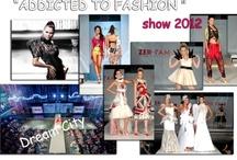"""ADDICTED TO FASHION""  Show 2012 / ""Each garment is an experience ...  Inside the crowded Live Stage Club Dream City of Gazi, a stunning Catwalk evolved into a spectacular show leaving the best impressions in the minds of viewers!  «Κάθε ρούχο είναι μία εμπειρία...  Μέσα στο κατάμεστο Live Stage του Club Dream City στο Γκάζι, ένα εντυπωσιακό Catwalk εξελίχθηκε σε ένα φαντασμαγορικό show αφήνοντας τις καλύτερες εντυπώσεις στη μνήμη των θεατών!"