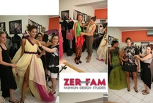"""ADDICTED TO FASHION"" ...... final fitting for ZER-FAM fashion show 2012"