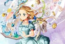 Alice in Wonderland  / Pictures to do with Alice In Wonderland, mostly in anime but also lots of the cheshier cat