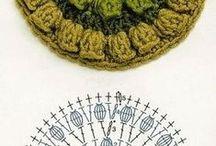 Crochet gráficos y patrones. / Todo gráficos y patrones para tejer crochet. / by Raquel Ortiz Cruz