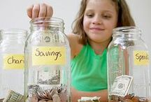 Chores, Money, and Business for Kids / Teach your kids to be smart with money and hard working. Ideas for chores, rewards, allowance, saving, and more!