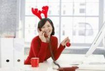 Joulumielellä toimistolla / Löytyykö toimistolta joulujoulu ihmisiä? Täältä inspiraatiota kaikkien aikojen toimisto-jouluun.