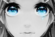 Anime Eyes / Amazing Anime Eyes, From Pictures And Close Ups To Step By Step Instructions.