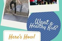 Get Active! / Get kids outside, active, using energy, healthy, and learning about sports! Start healthy habits now.
