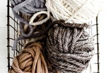 Gray & Tan - Cosy combination / I think this combination of colors it´s the cosiest of them all!