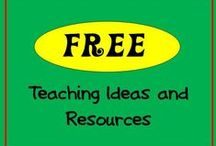 FREE TPT / This board has ONLY free teaching ideas and resources. If you would like to pin to this board follow me and leave a comment on one of my pins. Happy Pinning! Hilda / by Hilda Ratliff