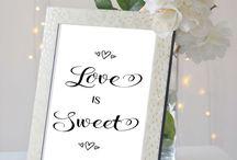 Wedding Details / A mix of wedding favours, wedding decor, wedding gifts & wedding inspiration