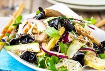 Salads / Veggies / A collection of all delicious, creative, worldwide salad and vegetable recipes.
