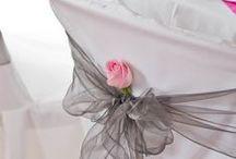 Mariage / Mon thème est les contes de fée Mes couleurs sont le rose pâle et le gris et argent