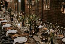 vintage wedding vibes  / warm cozy intimate wedding feelings