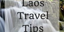 Laos Travel Tips / The stunning beauty of Laos is without compare. This board is for anyone planning a trip to Laos. You'll find all the best hotels in Laos, activities in Laos and restaurants in Laos tight here. Click around and get inspired!