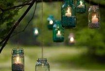 Outdoor ideas!  / by Monica Escalante