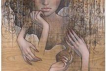 Audrey Kawasaki / Wonderful artworks