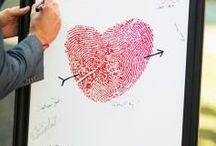 Wedding Guest Book / Creative wedding guest book ideas to capture your loved ones' sentiments on your big day.