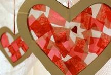 Valentine's Day for Kids / Valentine's Day art-based and developmentally appropriate activities for young children and classroom/home decorations