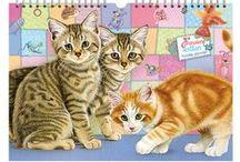 Franciens Katten kalenders en agenda's/ Franciens Cats calenders / Alle leuke tekeningen en producten van Franciens Katten zijn op dit bord terug te vinden!